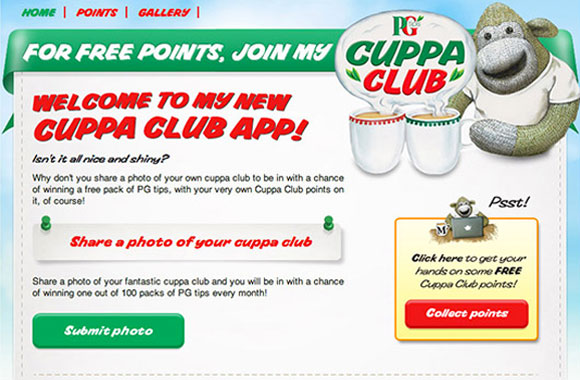 PG Tips, Cuppaclub
